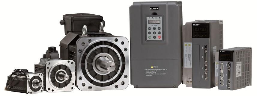 伊莱斯伺服电机应用于数控加工机床